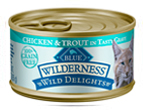 thumb wild delights chick trout white Todays best cat foods  reviews of canned and raw options