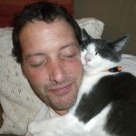 man and his cat 150x150 Stories of caring cats