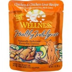 wellness pouches 150x150 Todays best cat foods  reviews of canned and raw options
